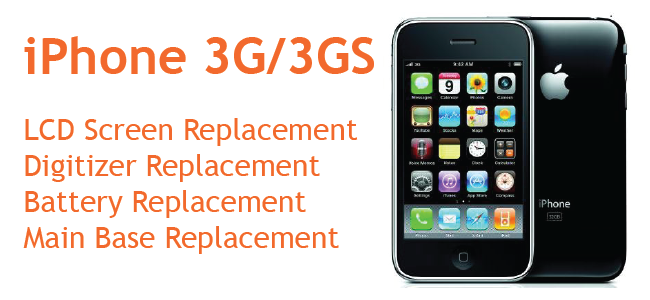 iPhone 3G-3GS Repairs Price Canberra